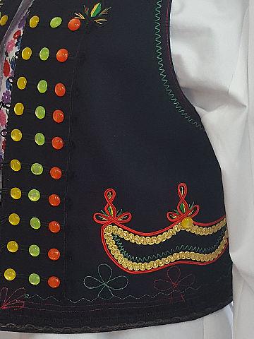 Krojová vesta z vlněného sukna 720g