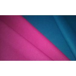 Vlněné sukno fuchsiové a středně modré
